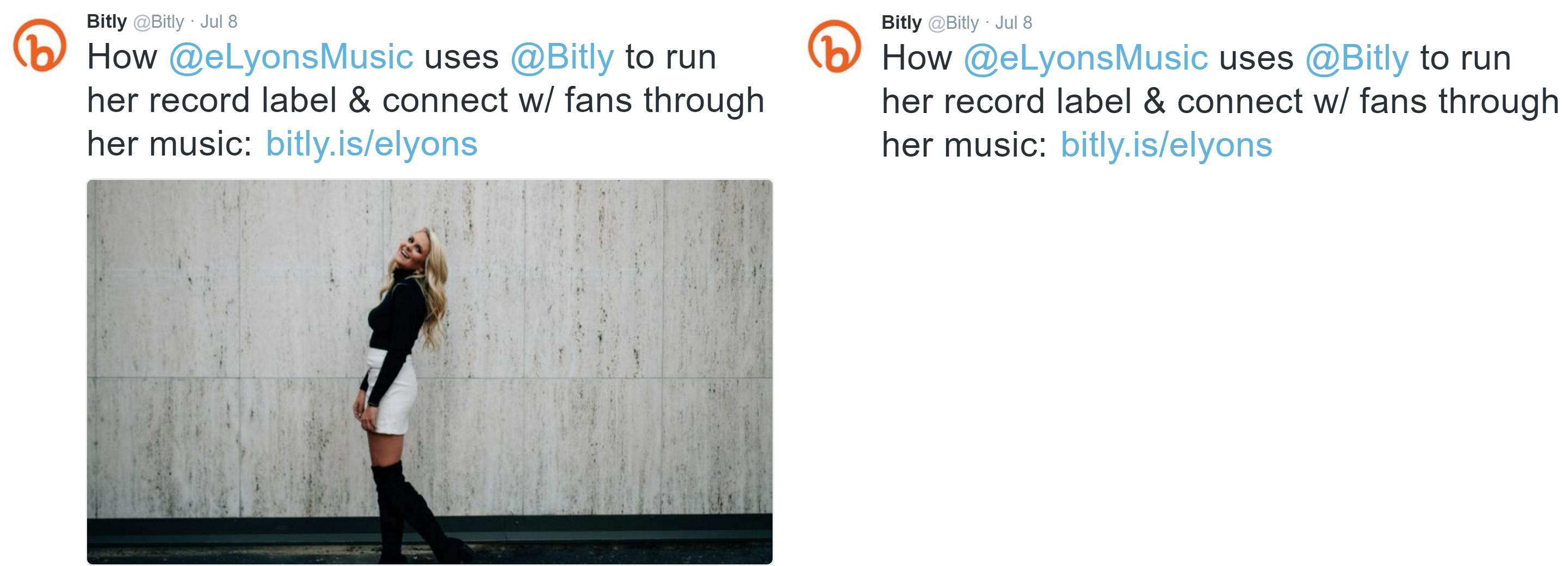 Bitly Tweet