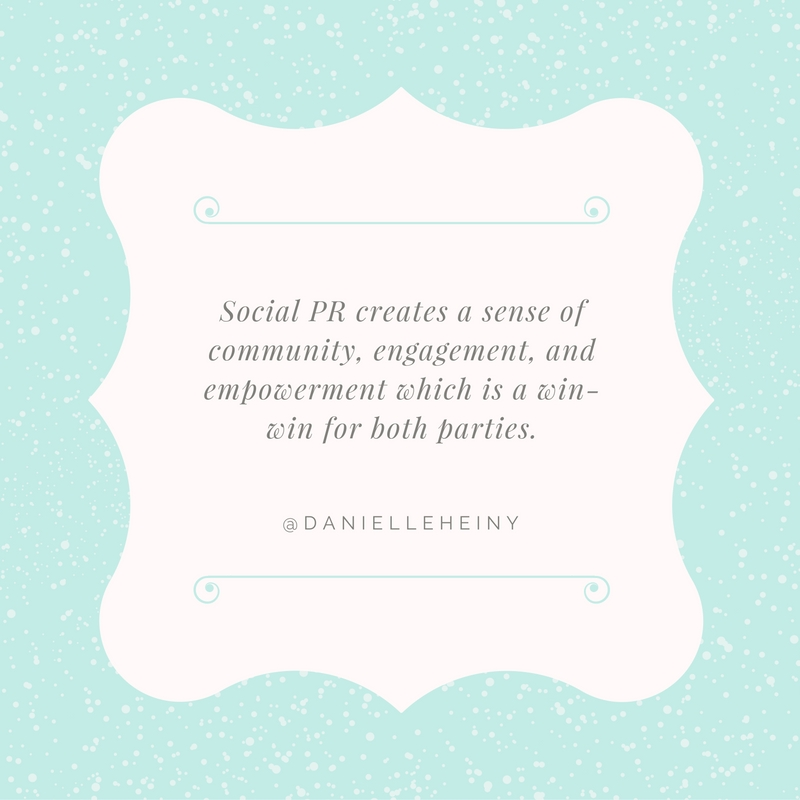 Danielle Heiny Quote for #SocialPR Spotlight