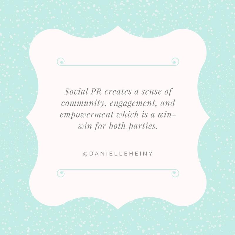 Danielle Heiny Quote for #SocialPR Spotlight