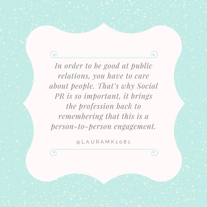 Laura Kaslow Quote for Social PR Spotlight