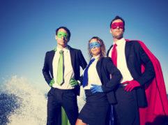 social pr superheros
