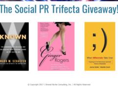 Social PR Trifecta Giveaway