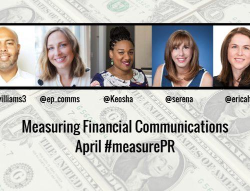 #measurePR Recap (April 2017): Measuring Financial Communications