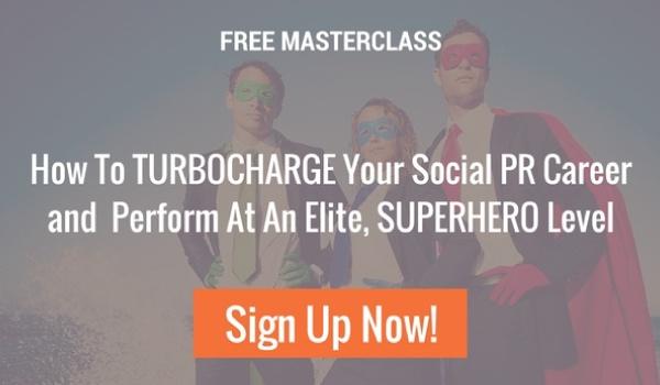 free online webinar on mastering Social PR