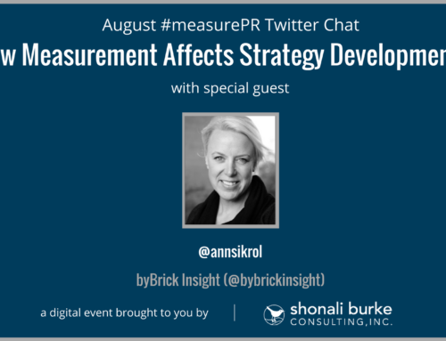 #measurePR Recap (August 2017): How Measurement Affects Strategy Development
