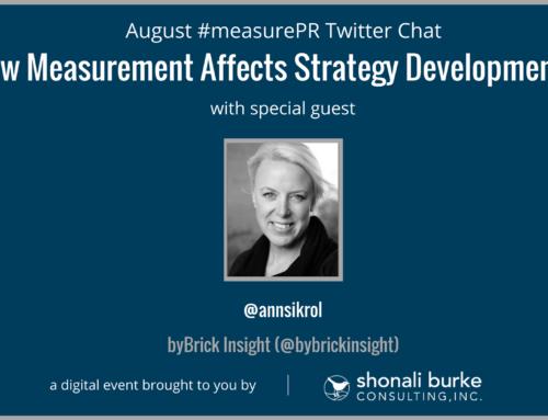 #measurePR Recap (August 2017): How Measurement Affects Strategy Development