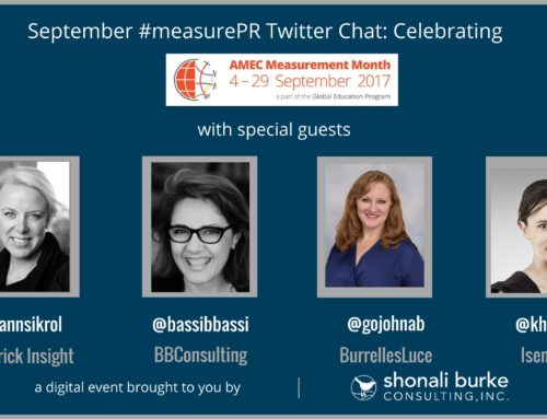 #measurePR Recap (September 2017): Celebrating AMEC Measurement Month 2017