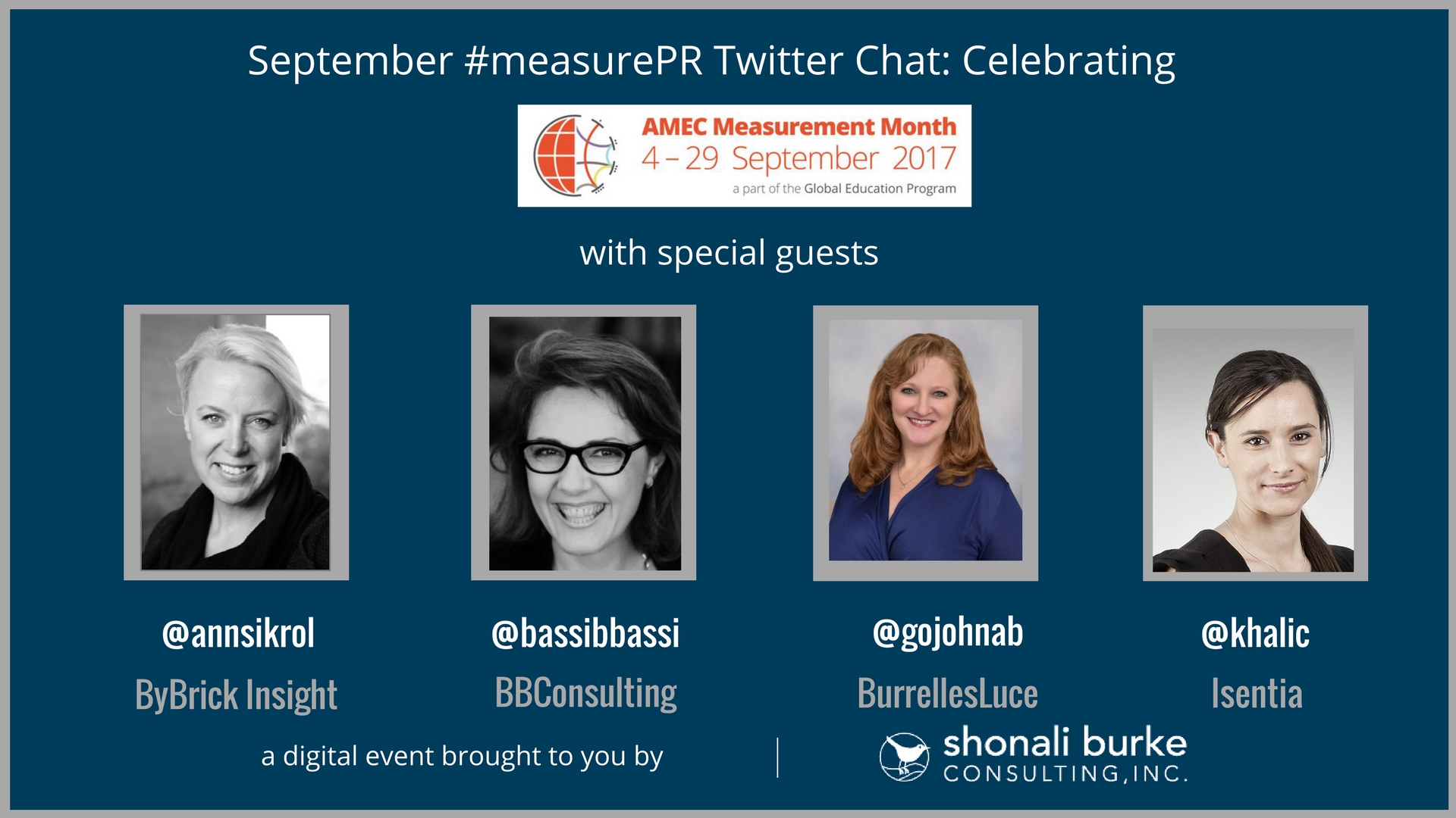 #measurePR Recap (September 2017): Celebrating AMEC Measurement Month 2017