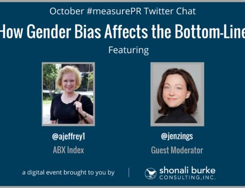 #measurePR Recap (October 2017): How Gender Bias Affects the Bottom-Line