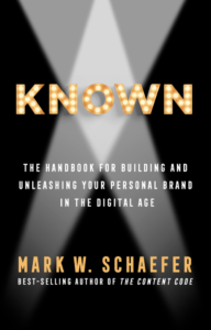 """Known,"" by Mark Schaefer"