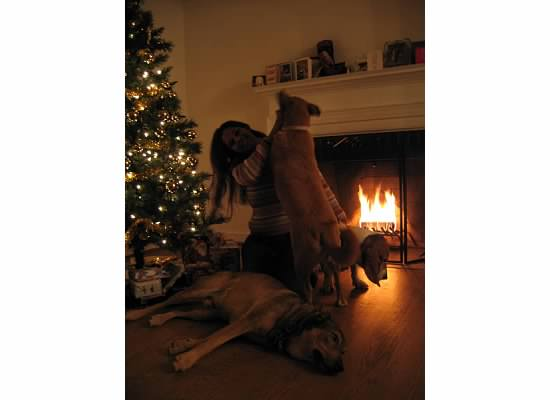 photo of Shonali and Suzy Q during their first DC Christmas