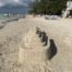 sandcastle in Negril