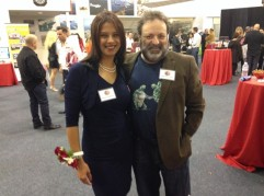 Shonali Burke and Shel Holtz at the Age of Context launch party