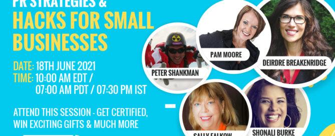 DesignHill online event banner