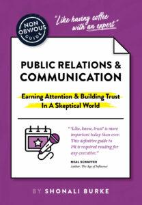 Non-obvious Guide to PR book cover