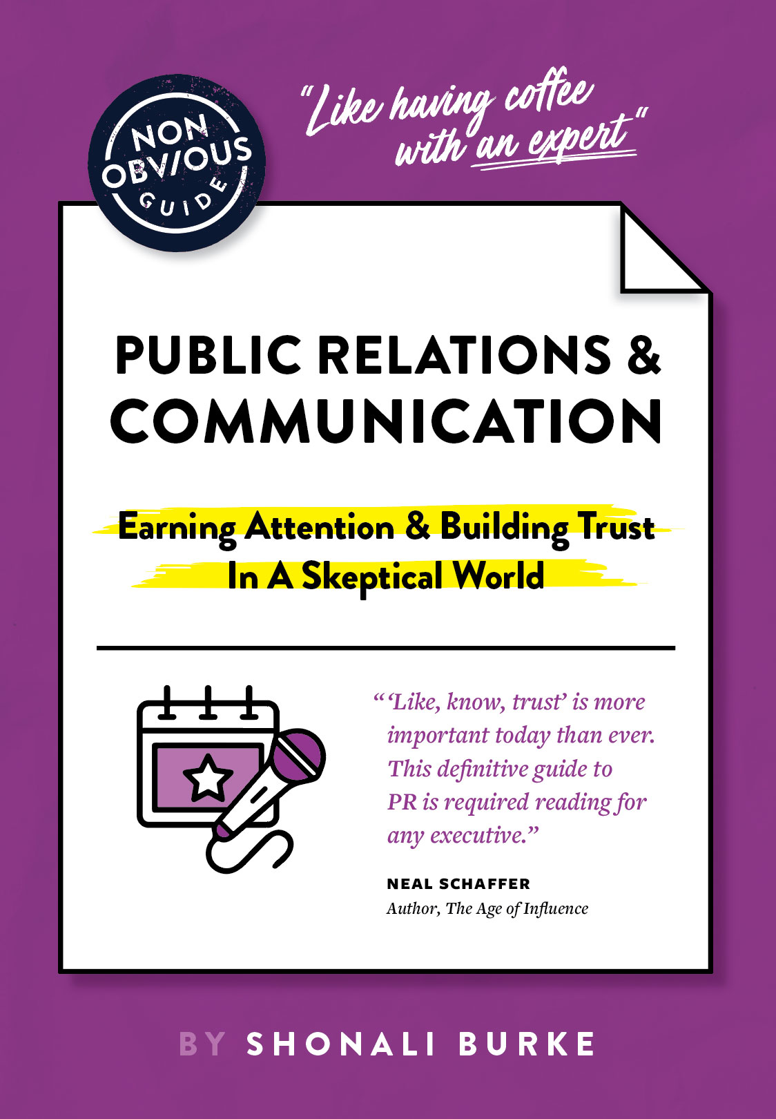 [BOOK ALERT] The Non-Obvious Guide to PR & Communication